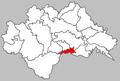 Hrvatska Kostajnica city map.PNG