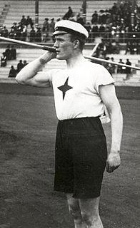 Hugo Wieslander Swedish track and field athlete