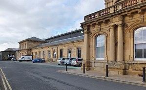 Hull Paragon Interchange - The original southern entrance range (2014)