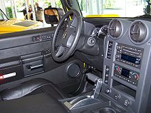 Hummer h2 wikip dia for Interieur hummer