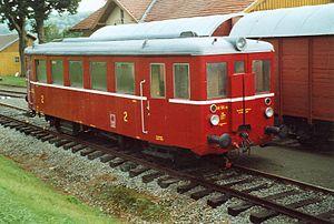 """Josef Skupa - Railcar M 131 nicknamed """"Hurvínek"""""""