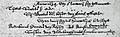 Huwelijksinschrijving Rembrandt Saskia 1634 Annaparochie.jpg