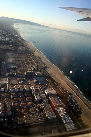 Hyperion sewage treatment plant - The Hyperion Water Reclamation Plant from the air.