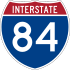 Interstate 84 marker