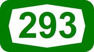 Route 293 (Israel) - Image: ISR HW293