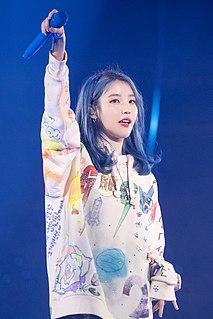 IU (singer) South Korean singer-songwriter and actress