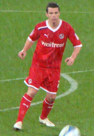 Ian Harte - Harte playing for Reading in 2012