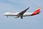 Iberia Airbus A330-200 EC-MKJ NRT (34093365355).jpg