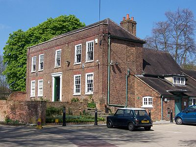 Ickenham Hall, the old manor house for the manor of Ickenham