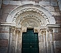 Iglesia de Santiago (La Coruña), Puerta lateral.jpg