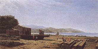 Tammar Luxoro - View of the Gulf of Spezia.
