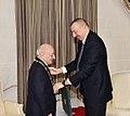 """Ilham Aliyev presented """"Heydar Aliyev"""" Order to People`s Artist Omar Eldarov 2.jpg"""