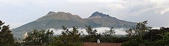 Imbabura Volcano - Imbabura Volcano seen from San Pablo del Lago