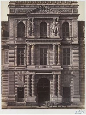 Édouard Baldus - Image: Imperial Library of the Louvre