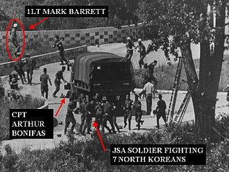 United States Forces Korea - Axe murder incident on August 18, 1976.