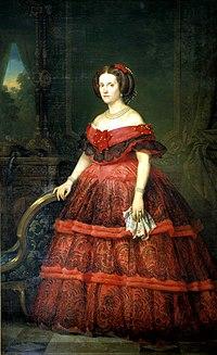 Infanta Isabel of Spain, Countess Gurowski, in 1860.jpg