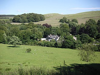 Whitewell - Image: Inn at Whitewell from the North geograph.org.uk 885921
