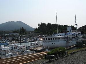 Der Inner Harbour von Ucluelet
