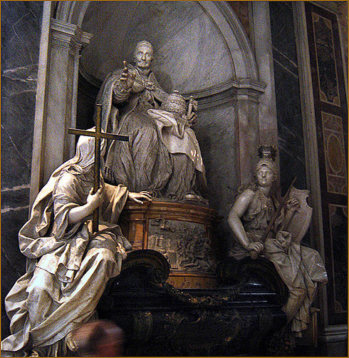 Monument to Pope Innocent XI, St. Peter's Basilica InocencioXIb.jpg