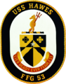 Insignia of USS Hawes (FFG-53) 1984.png