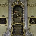 Interieur, regentenzaal. Schouwboezem met schilderij en tekst over de oprichtster - Utrecht - 20336907 - RCE.jpg