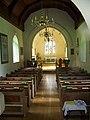 Interior, St Leonard's Church, Whitsbury - geograph.org.uk - 961698.jpg