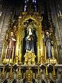 Interior of Santa Maria del Pi - Joaquima de Vedruna - Antoni Maria Claret - Francesc d'Assis.JPG