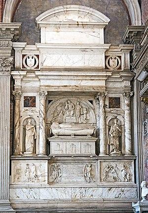 Giovanni Mocenigo - Monument to Giovanni Mocenigo - Santi Giovanni e Paolo, Venice