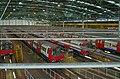 Interior of Stratford Market Depot on the Jubilee Line.jpg