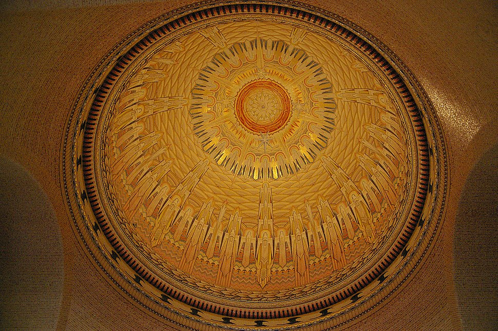 Interior of the AWM dome