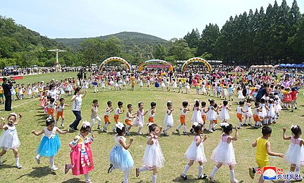 International Children's Day in Taesongsan Funfair, North Korea, 1 June 2019 International Children's Day 2019.jpg