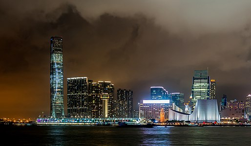 International Commerce Centre on Victoria Harbour