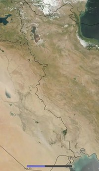Archivo:Iraq dust storm 20090705.ogv