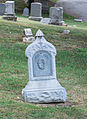 Iron headstone - Glenwood Cemetery - 2014-09-14.jpg