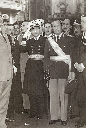 Argentine Constitutional Assembly election, 1957 - The Argentine military backed Aramburu's call for a constitutional assembly.