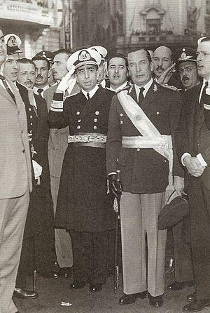 Isaac Rojas y Pedro Eugenio Aramburu %281956%29
