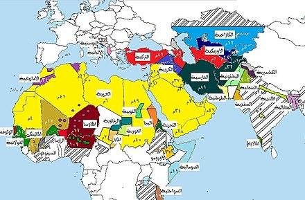 العالم الإسلامي Wikiwand