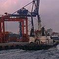 Istanbul Bosphorus Haydarpaşa Seaport Turkey Ship (87852783).jpeg