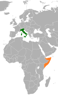 Italy–Somalia relations Diplomatic relations between the Republic of Italy and the Federal Republic of Somalia
