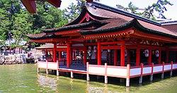 厳島神社の海上社殿