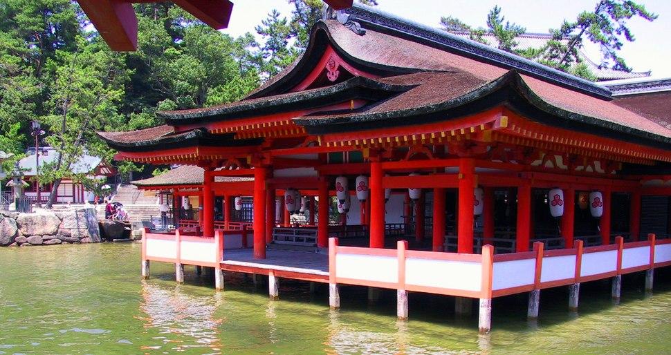 Itsukushima floating shrine