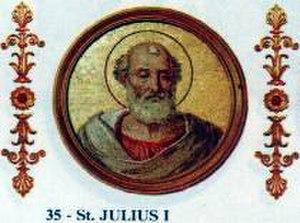 Pope Julius I - Image: Iulius I
