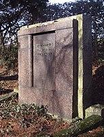 Jüdischer Friedhof Schwelm - Grabstein Otto Marcus.jpg