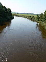 Jūra nuo Jurbarko-Šilutės plento tilto.Mociškiai.Foto:Kusurija