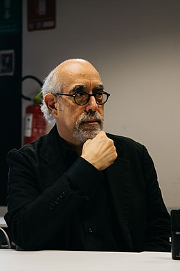 J. M. DeMatteis during an interview.jpg