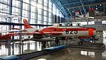 JASDF T-1A(15-5825) right front view at Hamamatsu Air Base Publication Center November 24, 2014.jpg