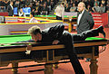 Jack Lisowski and Nico de Vos at Snooker German Masters (Martin Rulsch) 2014-01-29 01.jpg