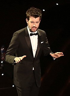 Jack Whitehall British comedian, television presenter and actor