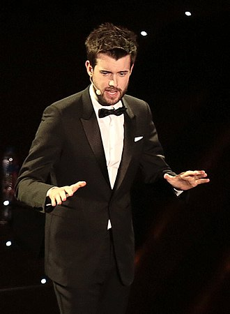 Jack Whitehall - Whitehall presenting the 2015 British Fashion Awards