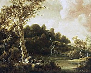 Jacob Esselens - River Landscape